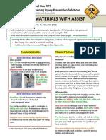 Ergonomics Move Materials With Assist