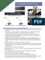 HS-9700 Multifunction Desktop Conference System