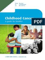 Infancia y cáncer