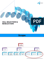 Cell Selection & Reselection Hands-On