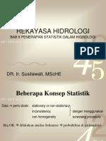 6. STATISTIK HIDROLOGI
