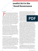 Tamil Nationalist Act in the Theatre of Good Governance - MeeNilankco Theiventhran