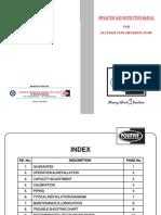 Plunger Pump Manual