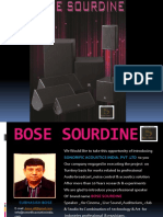 Bose Sourdine Catalog