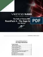ViennaMIR RoomPack4 Manual v1 En