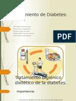 Tratamiento Higiénico Dietético de La Diabetes