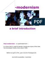 Presentation 4 - Post-Modernism