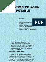 Dotación de Agua Potable