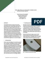 2010 Commercial Dual Flush Toilet Study Harrison