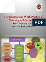 Generalist Social Work Practice I - Introduction 10 16 14
