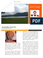 YTA yoga tantra and agama  newsletter  issue  6th 2016