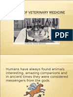 History of Veterinary Medicine