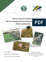 154444947 Memoire de Fin d Etudes M2 Amenagement Et Gestion Integree Des Ressources Environnementales 2010 2011