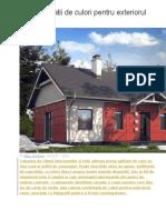 10 Combinatii de Culori Pentru Exteriorul Casei