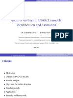 Additive outliers in INAR(1) models