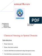 Chemical Sensing in Spatial