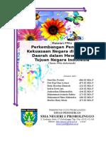 Perkembangan Pengelolaan Kekuasaan Negara Di Pusat Dan Daerah Dalam Mewujudkan Tujuan Negara Indonesia
