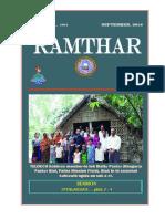 Ramthar - September, 2016