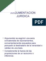 ARGUMENTACIÓN JURIDICA - Lógica Jurídica