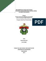 Implementasi Tugas Dan Fungsi Badan Penanggulangan Bencana Daerah