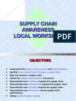 Supply Chain Management Awareness