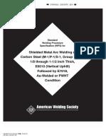 AWS b2.1-1-022-94 - Standard welding procedure