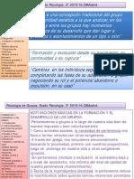5.Formación y Desarrollo Del Grupo.