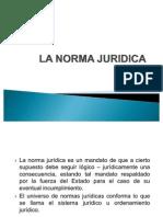La norma juridica y clasificación - Lógica Jurídica