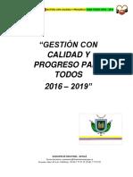 Plan de Desarrollo Firavitoba