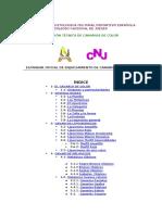 FEDERACION ORNITOLOGICA CULTURAL DEPORTIVO ESPAÑOLA COLEGIO NACIONAL DE JUECES