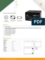 ACPW-12123PW-BT01B Datasheet Datasheet Batteries PW12123