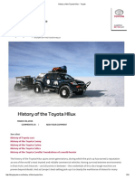 History of the Toyota Hilux - Toyota