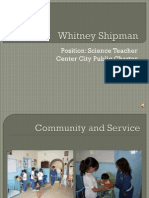 Slideshow Whitney Shipman