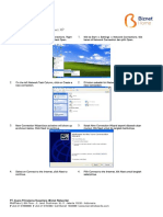 Support Setting Connection for Windows XP