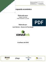 Propuesta_Hotel Condovac La Costa_Servidor Dell Power Edge T630 _Conzult...