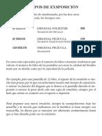procedimiento serigrafia