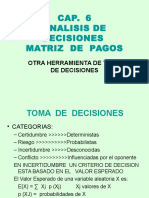 Cap 6 Analisis de Decisiones1