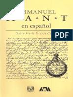 Kant en Español