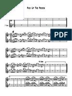 Pick Up the Pieces - Saxophones
