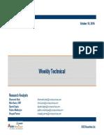 Weekly Technicals