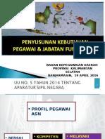 Bahan Ajar Workshop Penyusunan Anjab Dan ABK Dinkesprov 2016