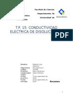 Conductividad electrica en disoluciones
