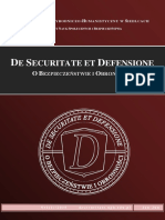 De Securitate et Defensione 1(1)2015