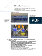 Hplc Procedures General Operating