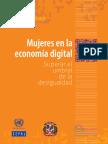 Mujeres en La Economia Digital.