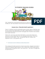 Carita Pondok Bahasa Sunda