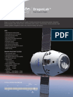 Dragon Spacecraft Measured Drawing