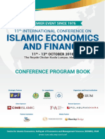 ICIEF 2016 Programme Book 11th ICIEF