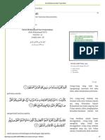 Surat Muhammad Dan Terjemahan