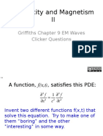 04 - Electromagnetic Waves (Griffiths.ch9)